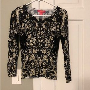 Catherine Malandrino Long Sleeved Blouse